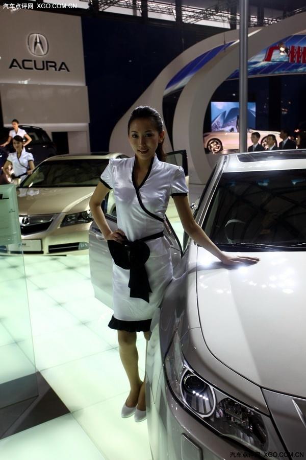 美车致 2009上海车展 讴歌ol车模