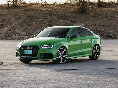 绿色闪电侠 奥迪全新RS3