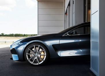 大型GT跑车经典复活 宝马8系概念车