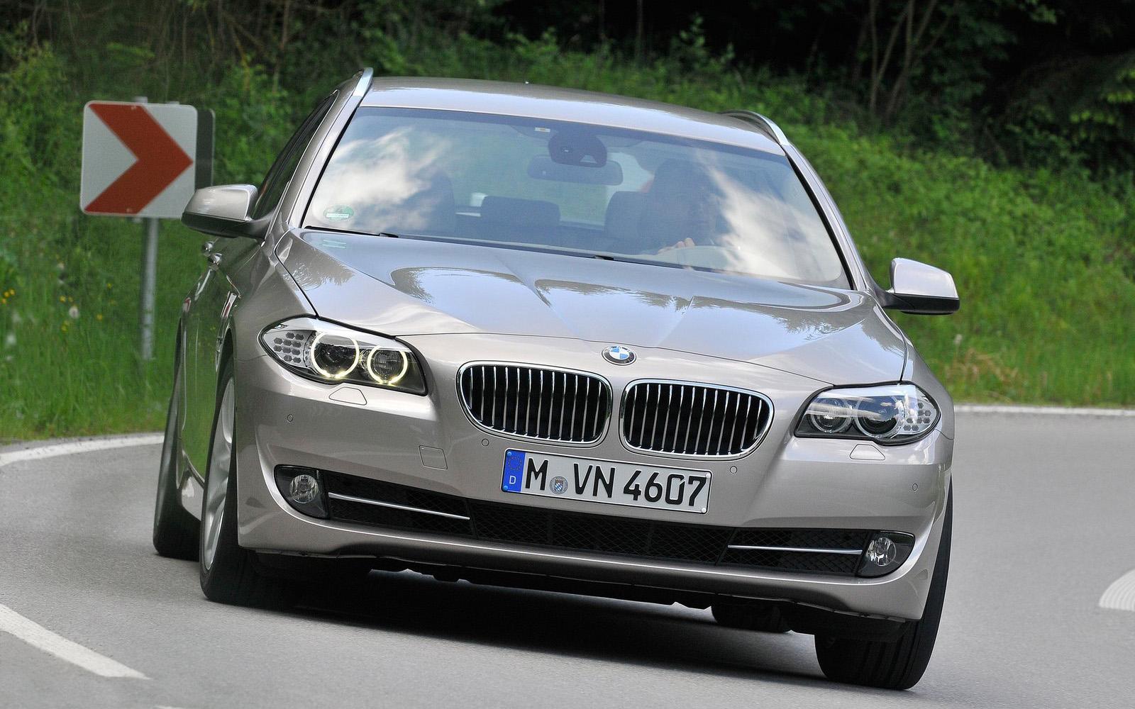 2011款宝马5系旅行版_图片库-汽车点评