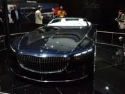 法兰克福车展Vision Mercedes-Maybach 6