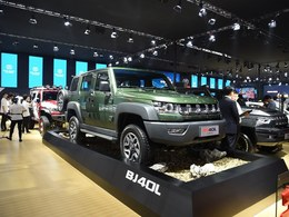 2017广州车展BJ40L