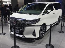 2018北京车展 丰田新款埃尔法正式亮相