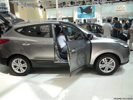 2010兰州车展北京现代ix35