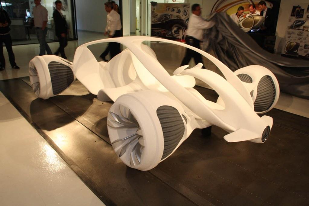 车重不足400kg 奔驰biome新超跑概念车