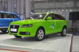 2011成都车展野马 E-taxi